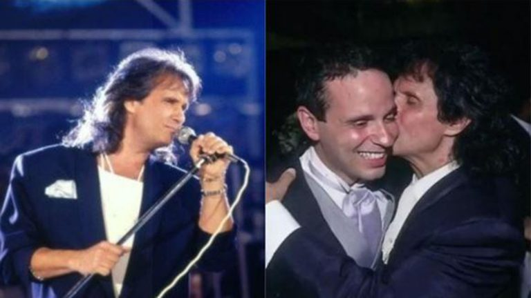 Cantante Roberto Carlos Y Su Hijo Dudu Braga