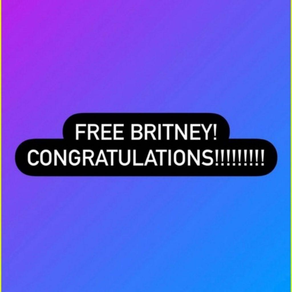 Sam Le Da Un A Mensaje A Britney