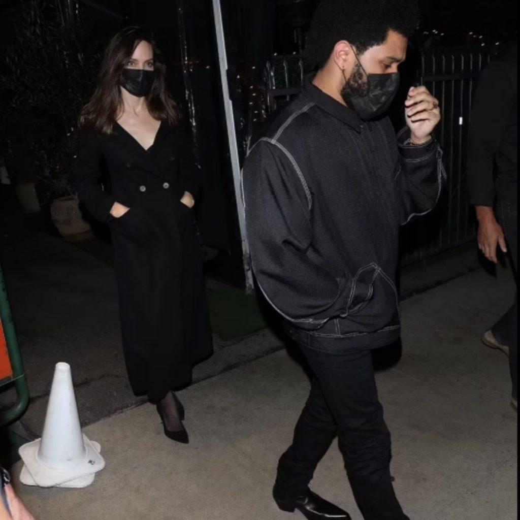 The Weeknd Y Jolie Saliendo