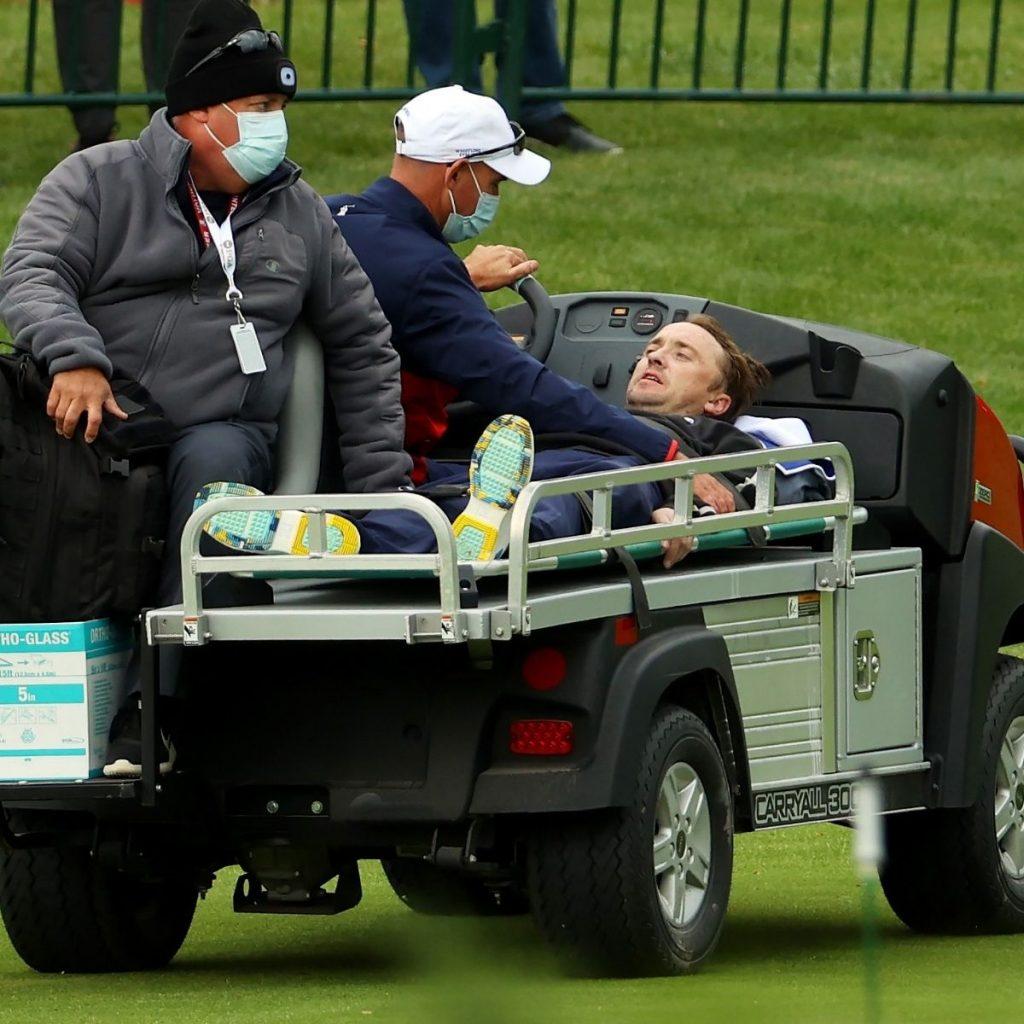 Tom Felton En Torneo De Golf