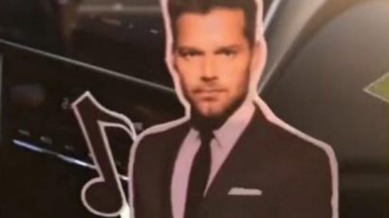Torta viral De Ricky Martin