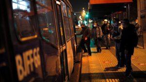 Transporte Público sin toque de queda