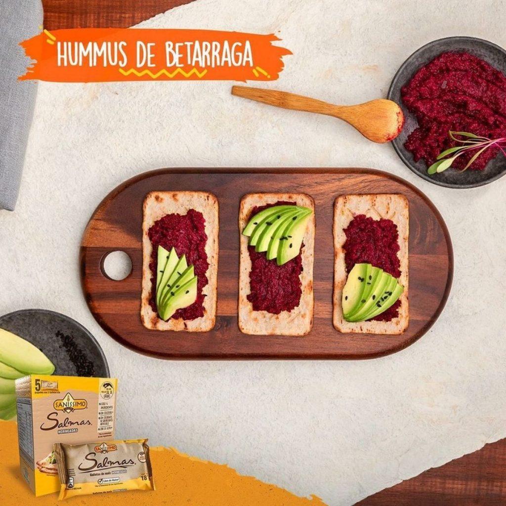 Hummus De Beterraga