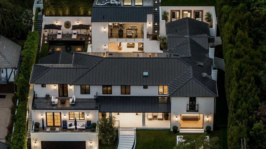 Mansion Rihanna Beverly Hills