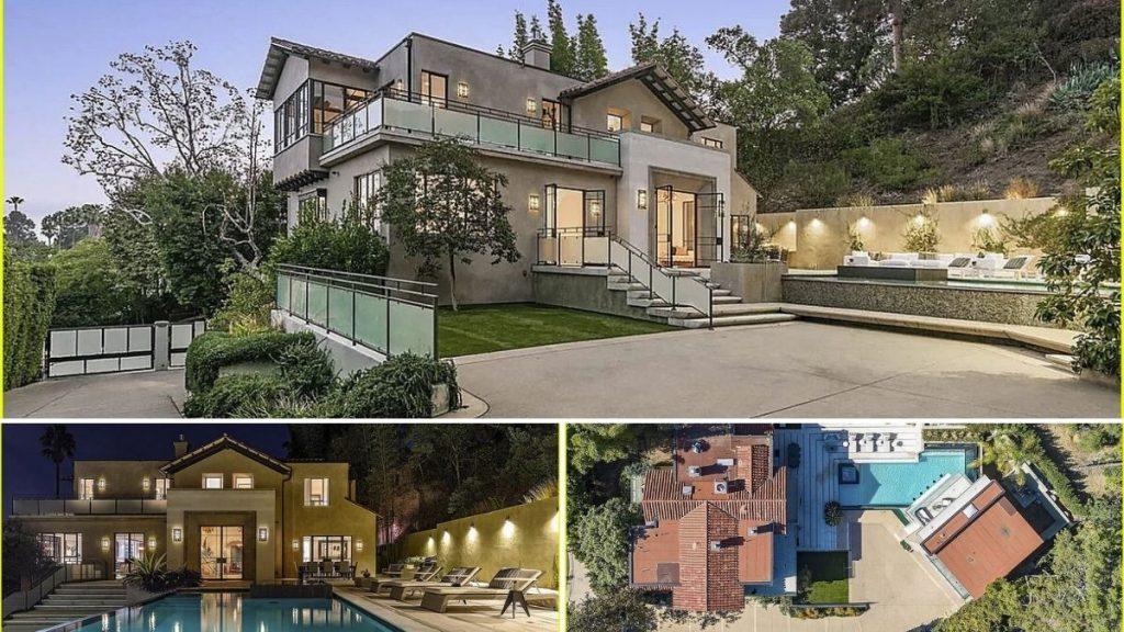 Rihanna Mansion Hollywood Hills