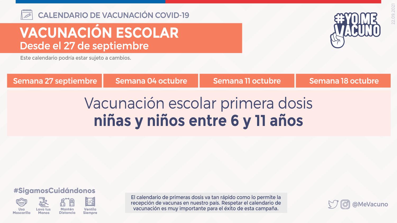 Vacunación Escolar