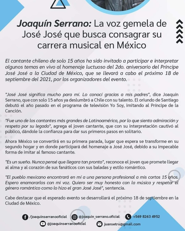 Yo Soy Jose Jose
