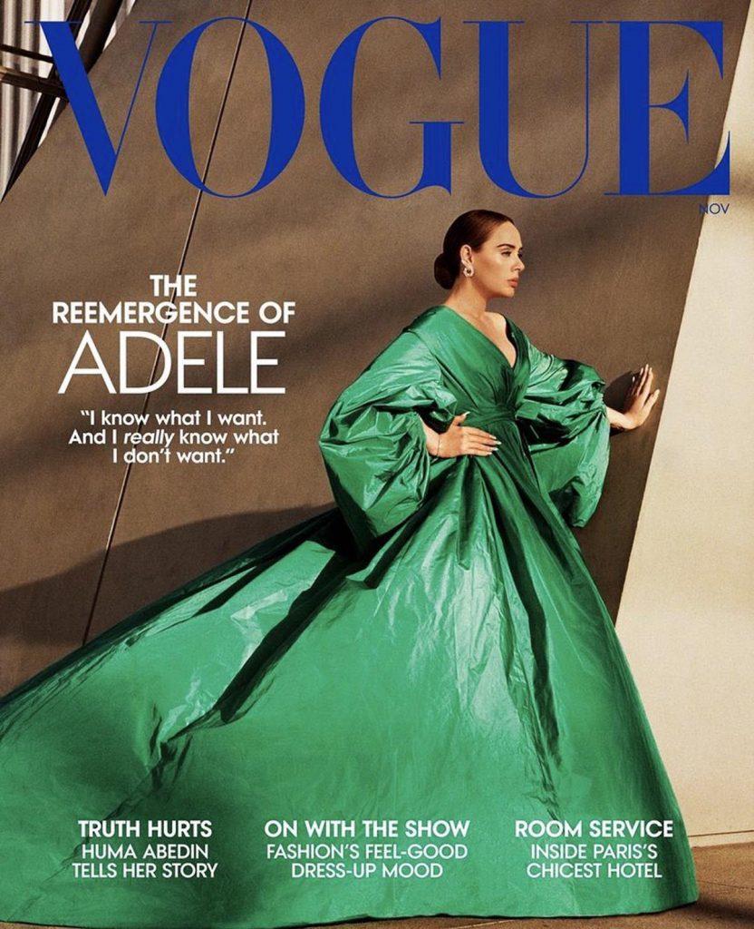 Adele En Vogue 1