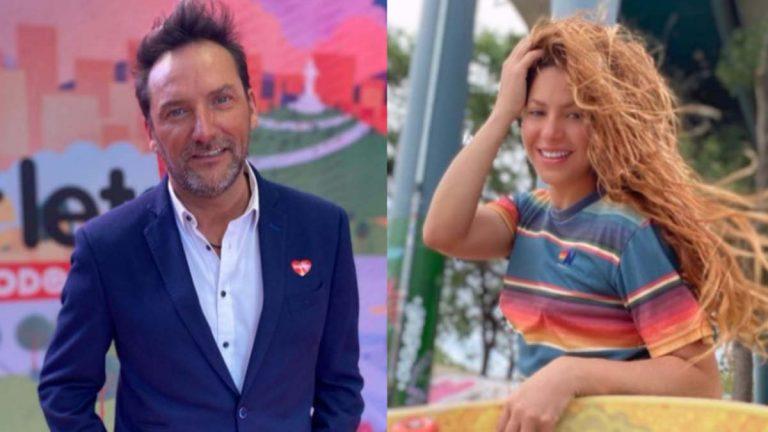 Daniel Fuenzalida Y Shakira