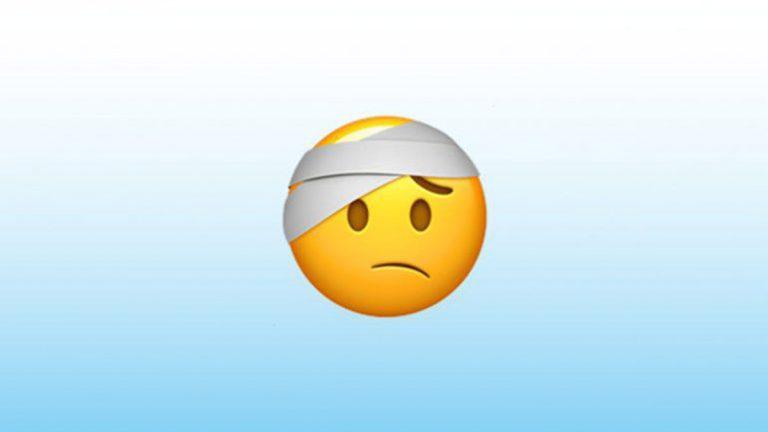 Emoji De Whatsapp Con Cara Vendada