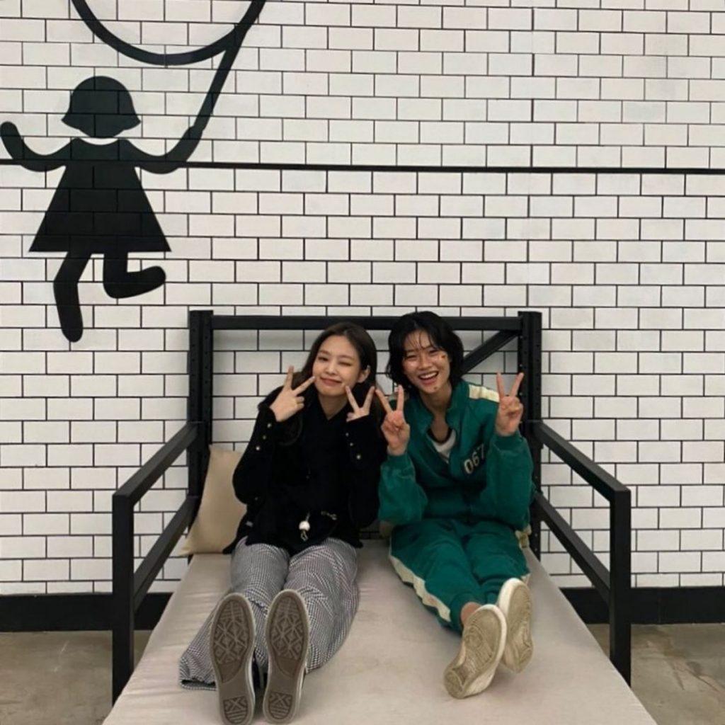 HoYeon Jung Jennie Black Pink