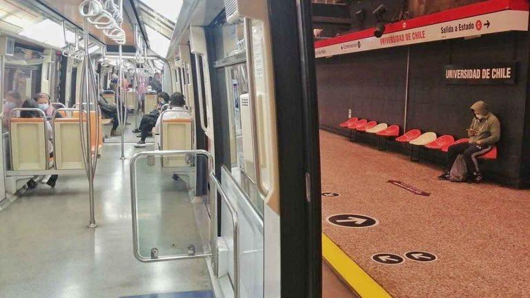 Limpiador del Metro De Santiago drogar mujeres
