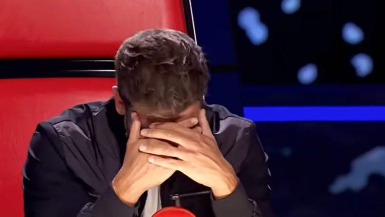 Pablo Alborán Llorando En La Voz España