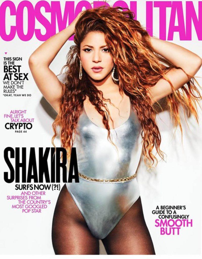 Shakira En Cosmopolitan