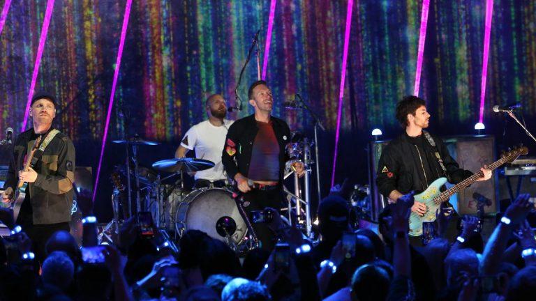 Coldplay Gira
