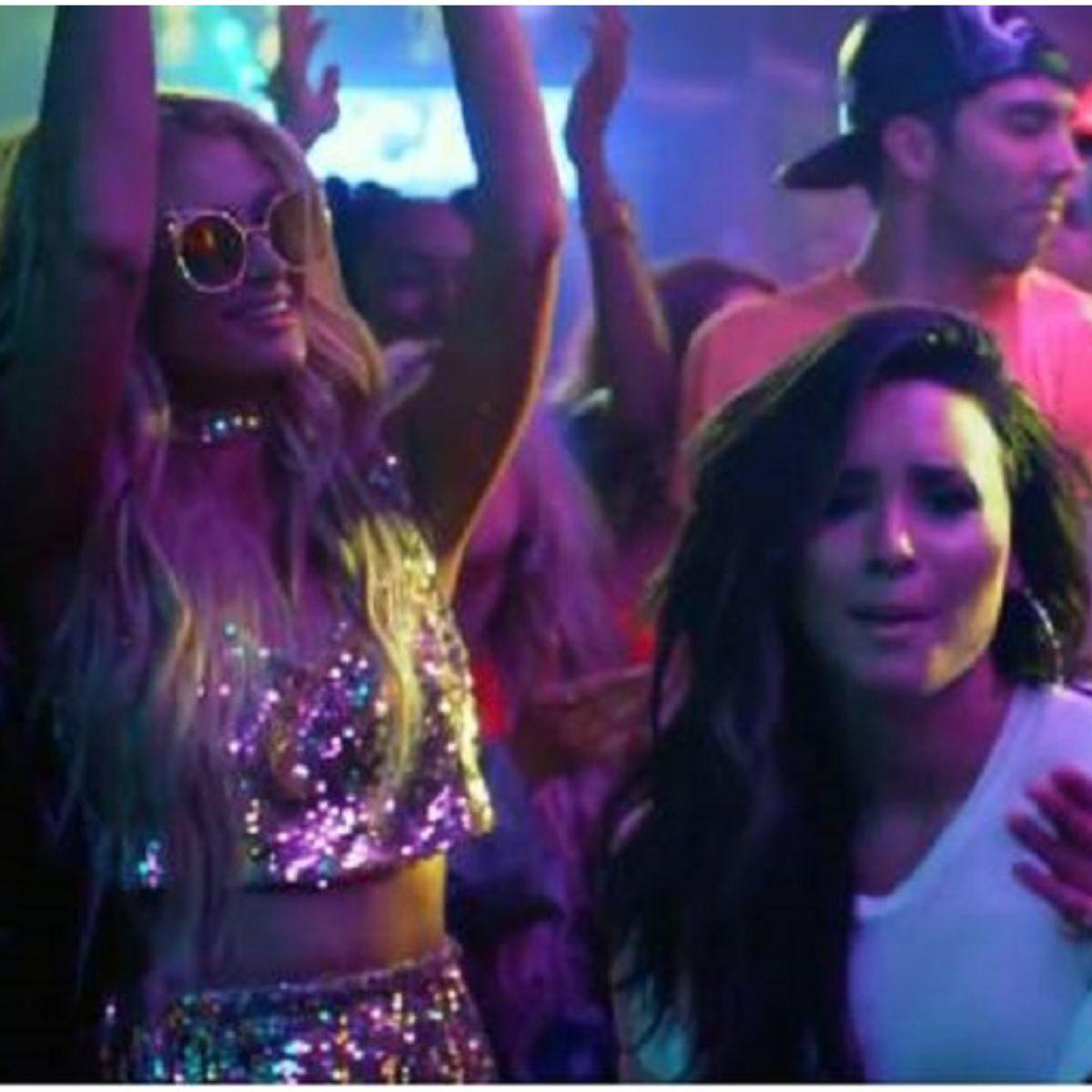 Demi Lovato Paris Hilton (3)