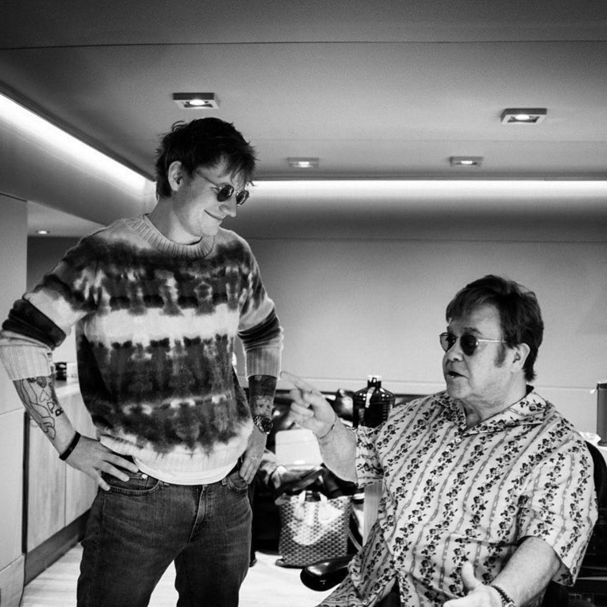 Ed Sheeran Elton John (1)