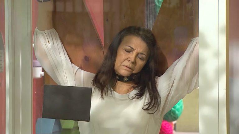 Mabel Farías Crucifixión Eliana