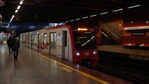Migrante Metro Santiago