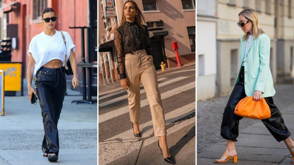 Pantalones efecto piel: Cómo usar la prenda estrella de Kendall Jenner