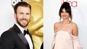 Selena Gomez Y Chris Evans Pareja